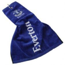 Official Everton FC Tri Fold Golf Bag Towel